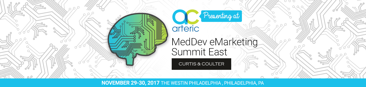 Arteric Presenting at MedDev eMarketing Summit East