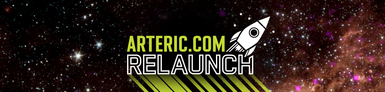 Announcing the launch of the new version of arteric.com.