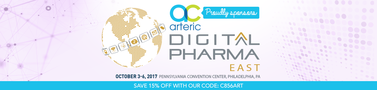 Arteric sponsors Digital Pharma East