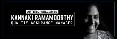 Arteric welcomes Kannaki Ramamoorthy, quality assurance manager