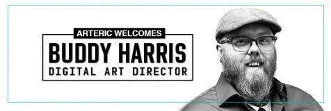 Buddy Harris joins Arteric as a digital art director