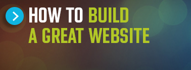 Button titled How to build a great website