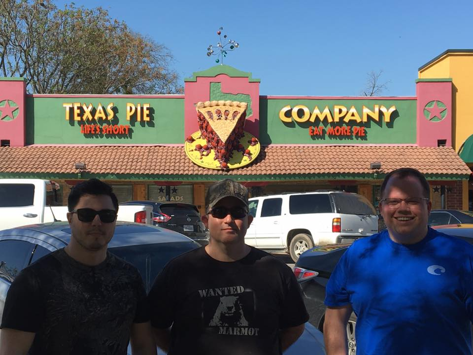 Arteric at Texas Pie Company for PI Day