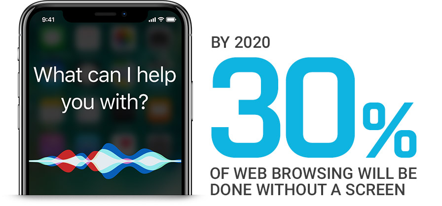 By 2020 30 percent of web browsing will be by voice