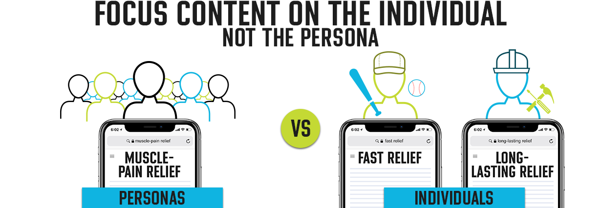 Focus Content on the Individual, Not the Persona